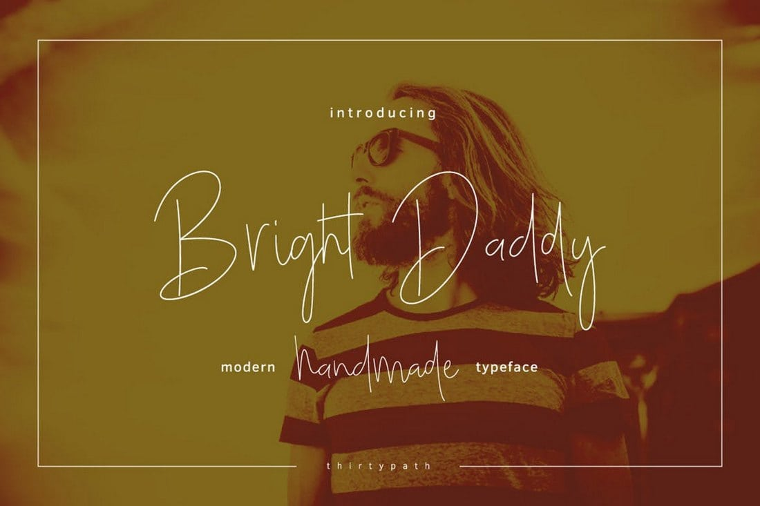 Bright-Daddy-Typeface 30+ Best Fonts for Business Cards design tips