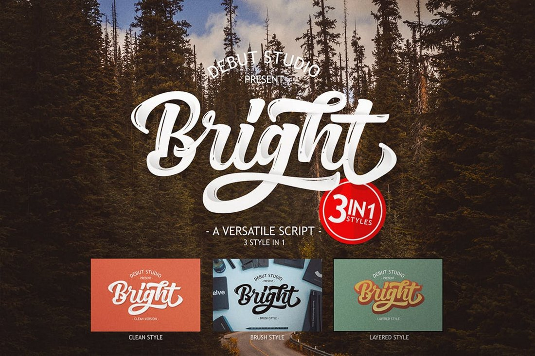Bright-Script-Poster-Font 60+ Best Big, Poster Fonts of 2019 design tips