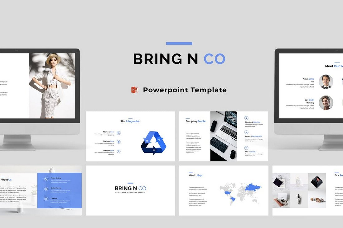 Bring-N-Co-Corporate-Powerpoint-Template 30+ Best Business & Corporate PowerPoint Templates 2021 design tips
