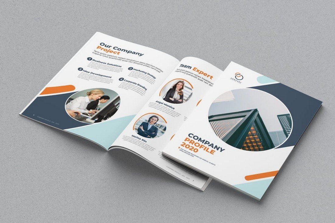 Brochure & Catalog Mockup Template
