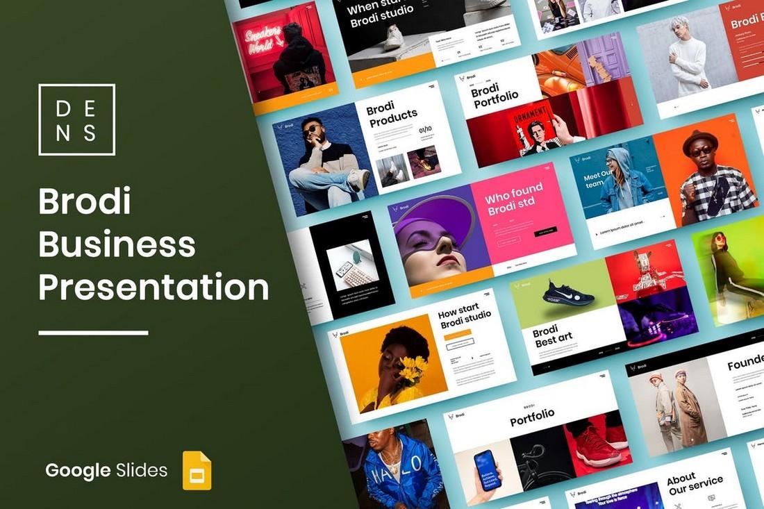 Brodi - Creative Google Slide Template
