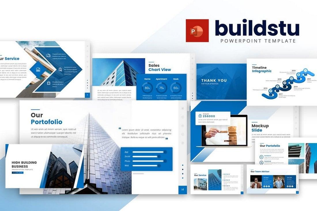 Buildstu - Business Powerpoint Template