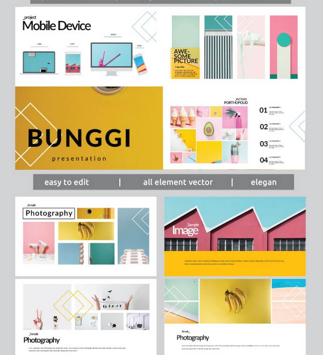 Bunggi-Multipurpose-Keynote-Template 30+ Best Keynote Templates of 2018 design tips