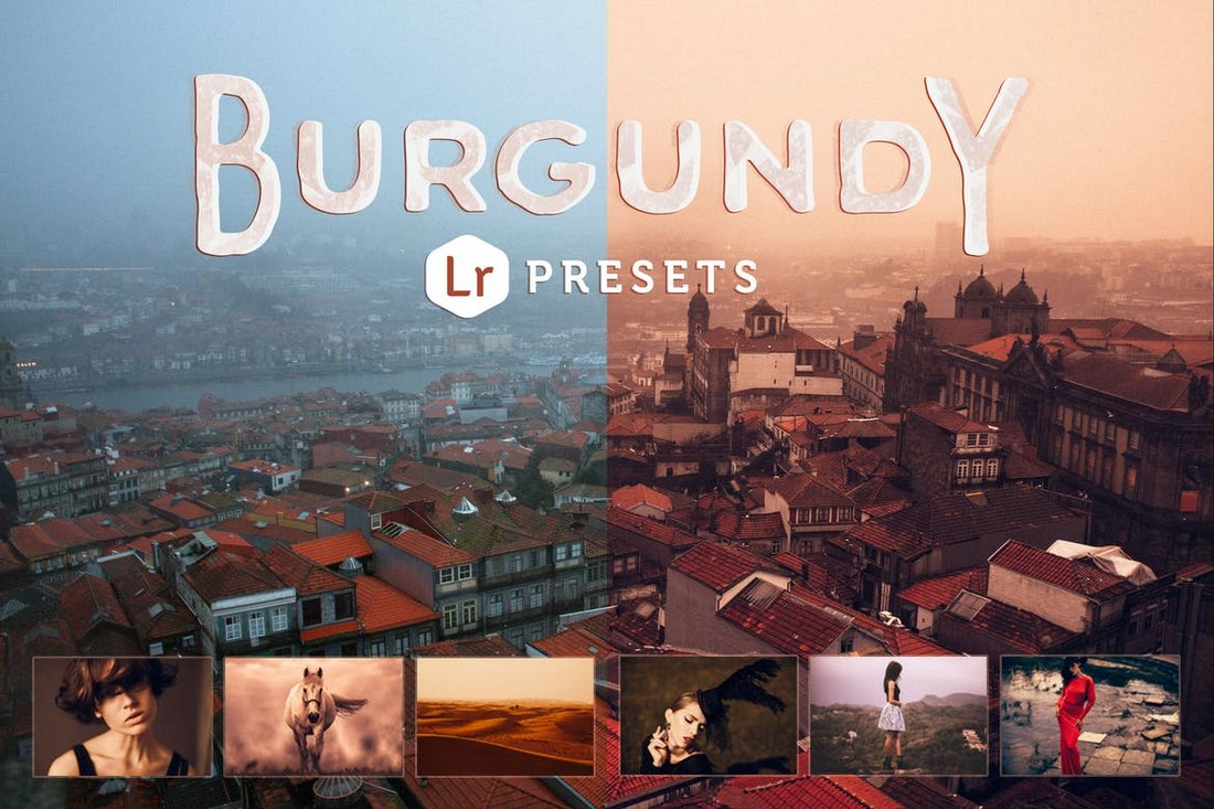 Burgundy Lightroom Presets