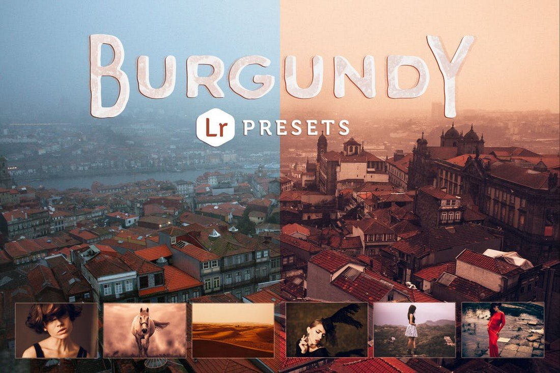 Burgundy-Lightroom-Presets 50+ Best Lightroom Presets of 2020 design tips