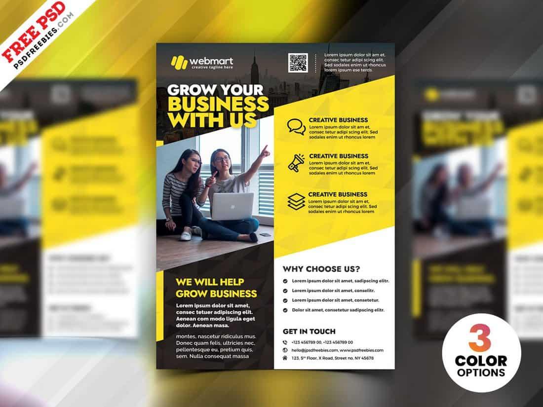 Business Advertising Flyer Design Templates