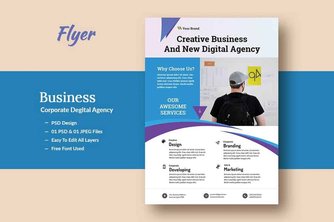 Business & Agency Flyer Template