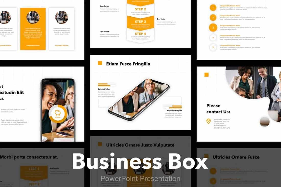 Business Box - Modern PowerPoint Template