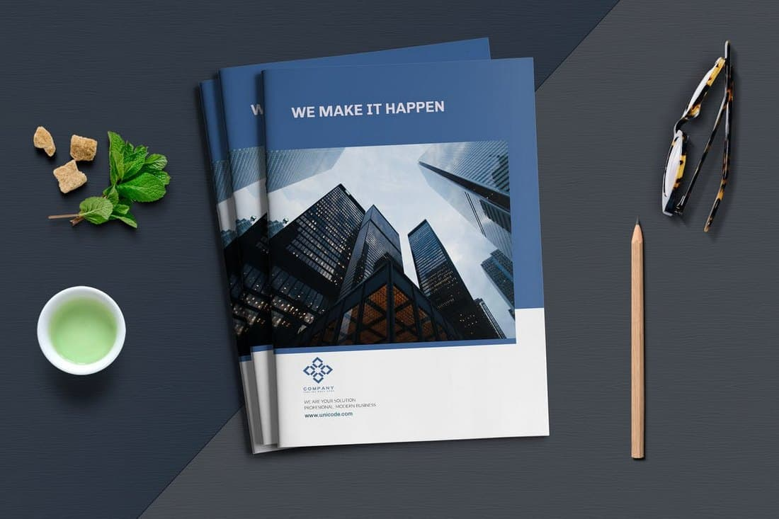 Business Brochure Book Template