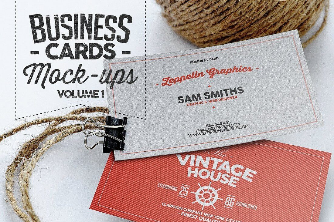 Business-Card-Mock-ups-Vol.1 70+ Corporate & Creative Business Card PSD Mockup Templates design tips