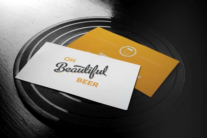 Business Cards & Logo Mockup