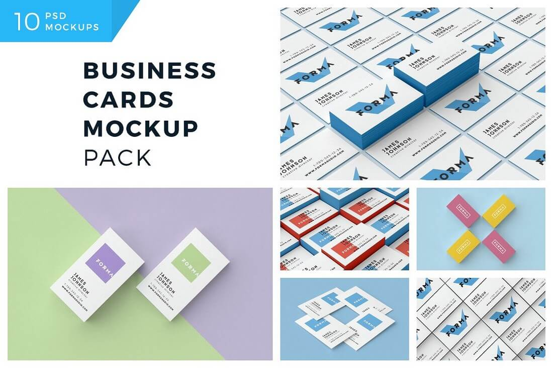 Business-Cards-Mockup-Pack-2 70+ Corporate & Creative Business Card PSD Mockup Templates design tips