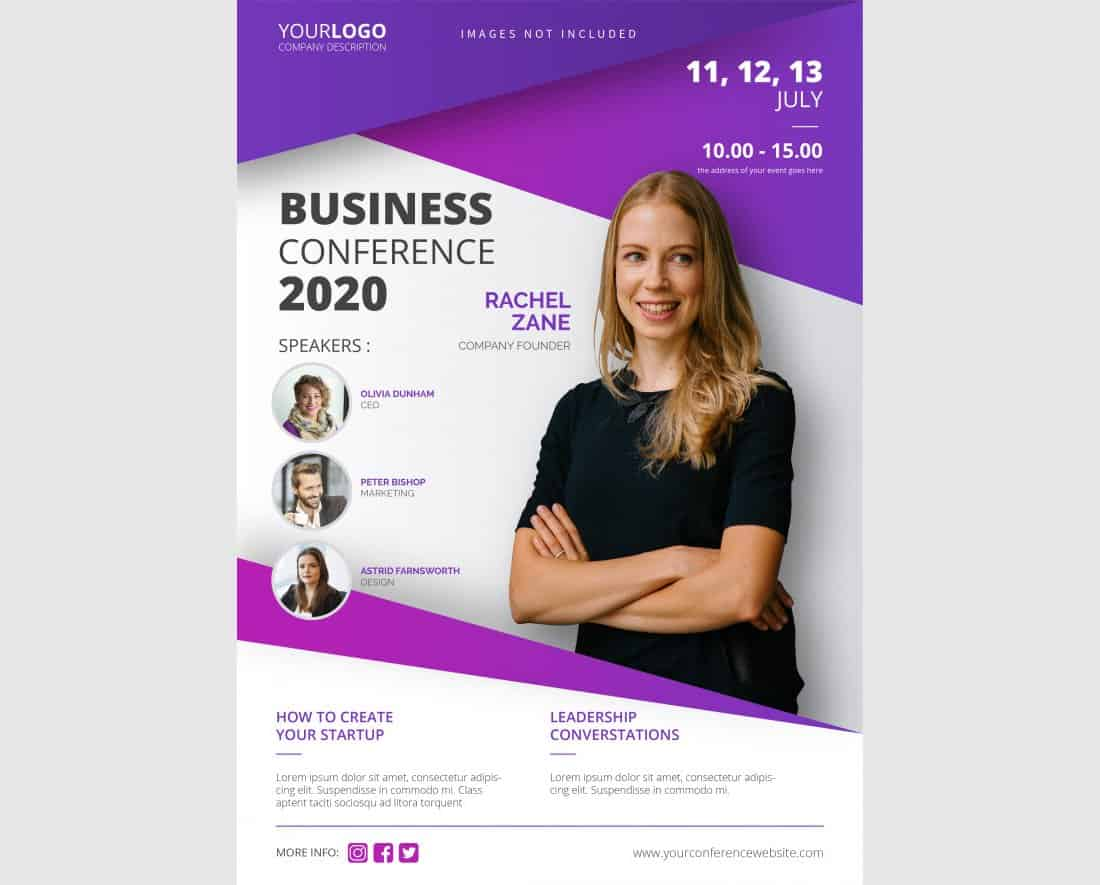 Business & Conference Flyer Template
