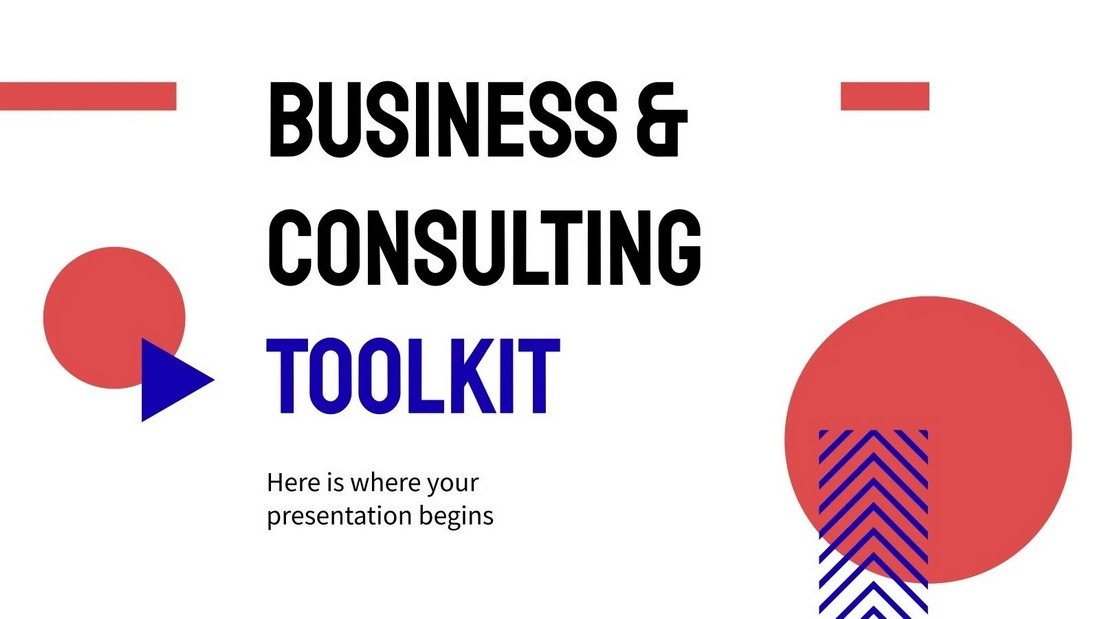 Business & Consulting Toolkit Free PPT