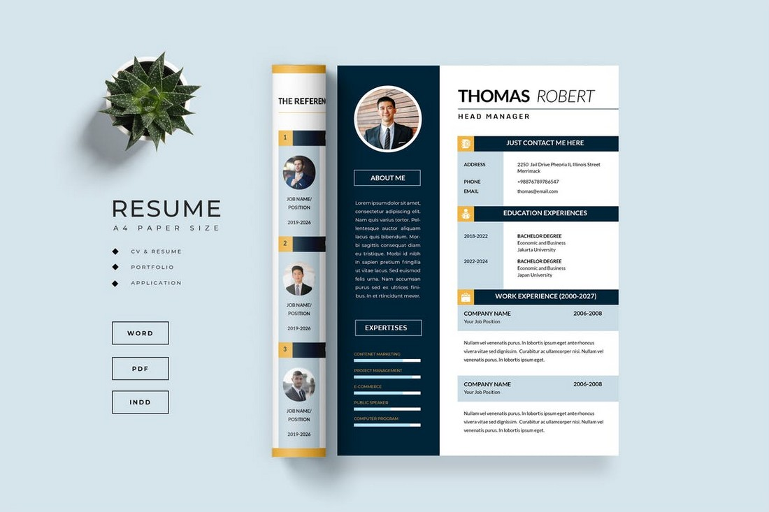 Business Cover Letter Template for Word