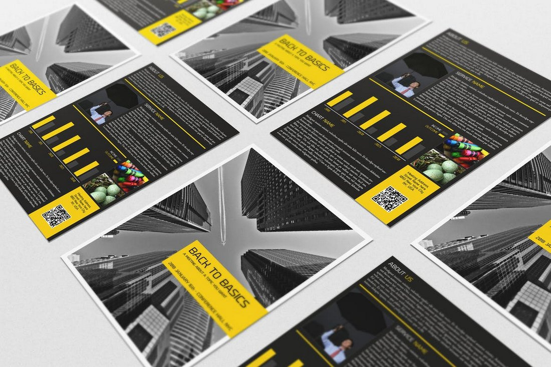 Business Flyers Templates Bundle