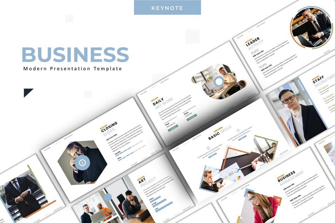 Business - Google Slide Template