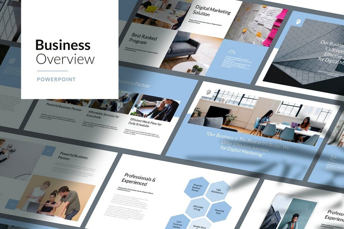 Business-Overview-Corporate-Powerpoint-Template 30+ Best Business & Corporate PowerPoint Templates 2021 design tips
