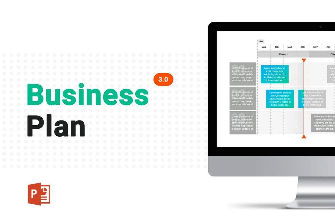 Business Plan 3.0 - PowerPoint Template