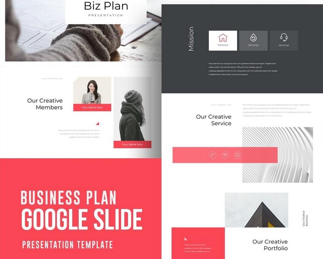 Business Plan - Free Google Slide Template