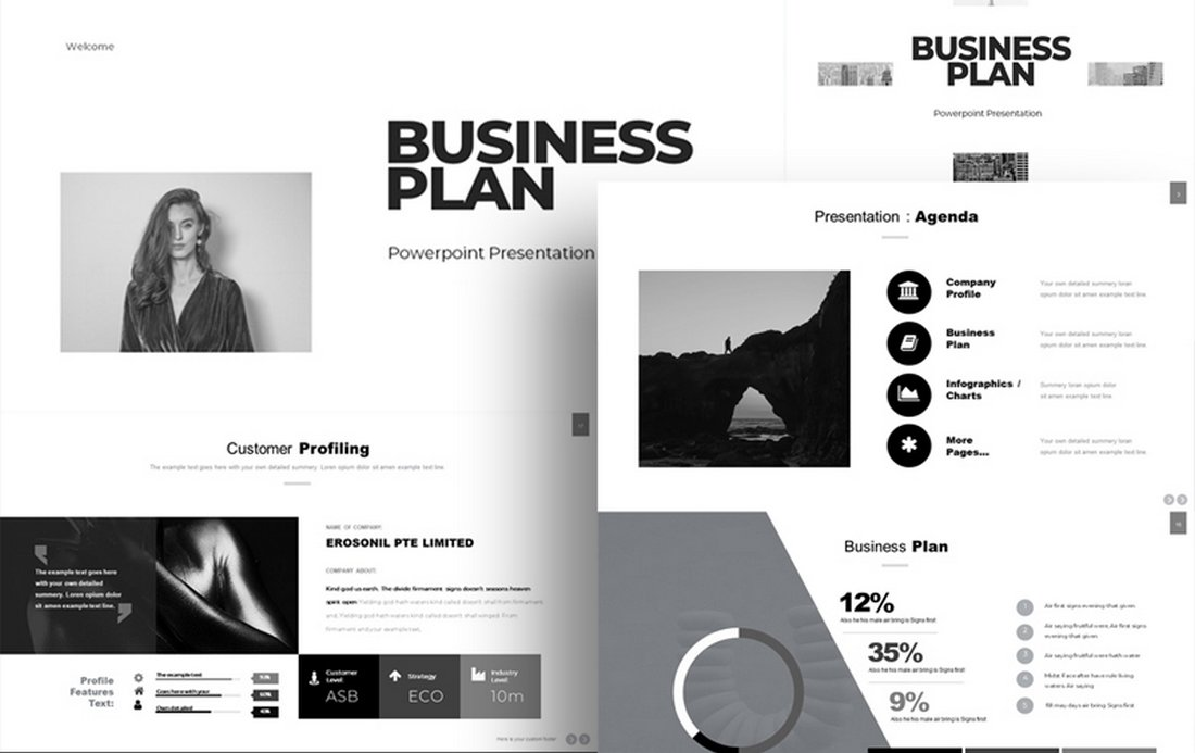 Business Plan Free Google Slides Template