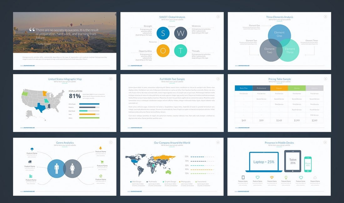 Business-Plan-Free-Google-Slides-Template 35+ Best Google Slides Themes & Templates 2019 design tips