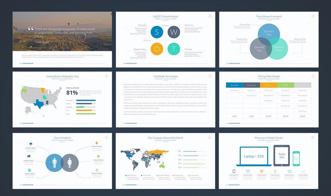 Google Slides Templates | 35 Best Google Slides Themes Templates 2019 Design Shack