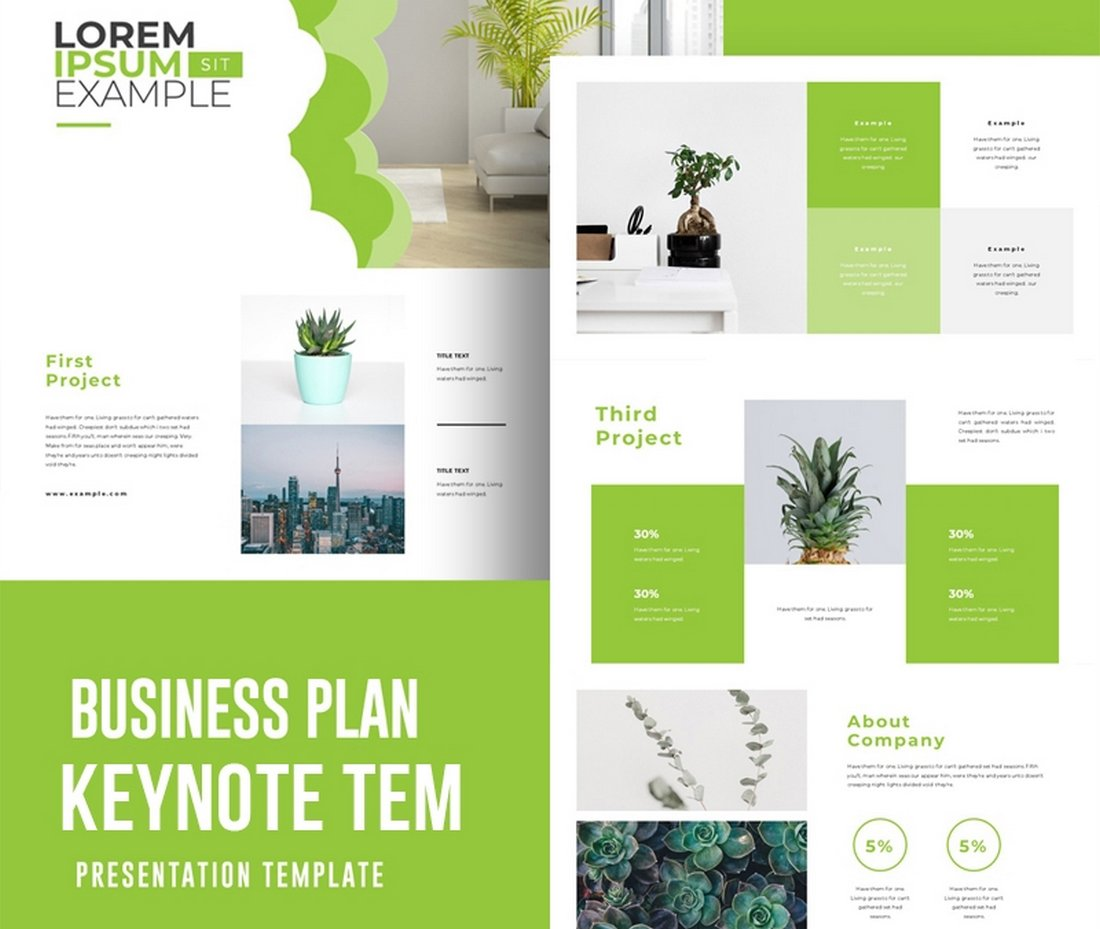 Business-Plan-Free-Keynote-Template-2 50+ Best Keynote Templates of 2021 design tips