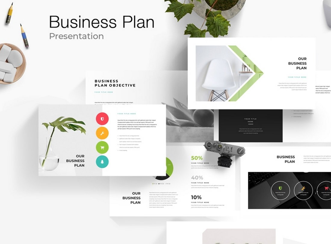Business Plan - Free PowerPoint Template
