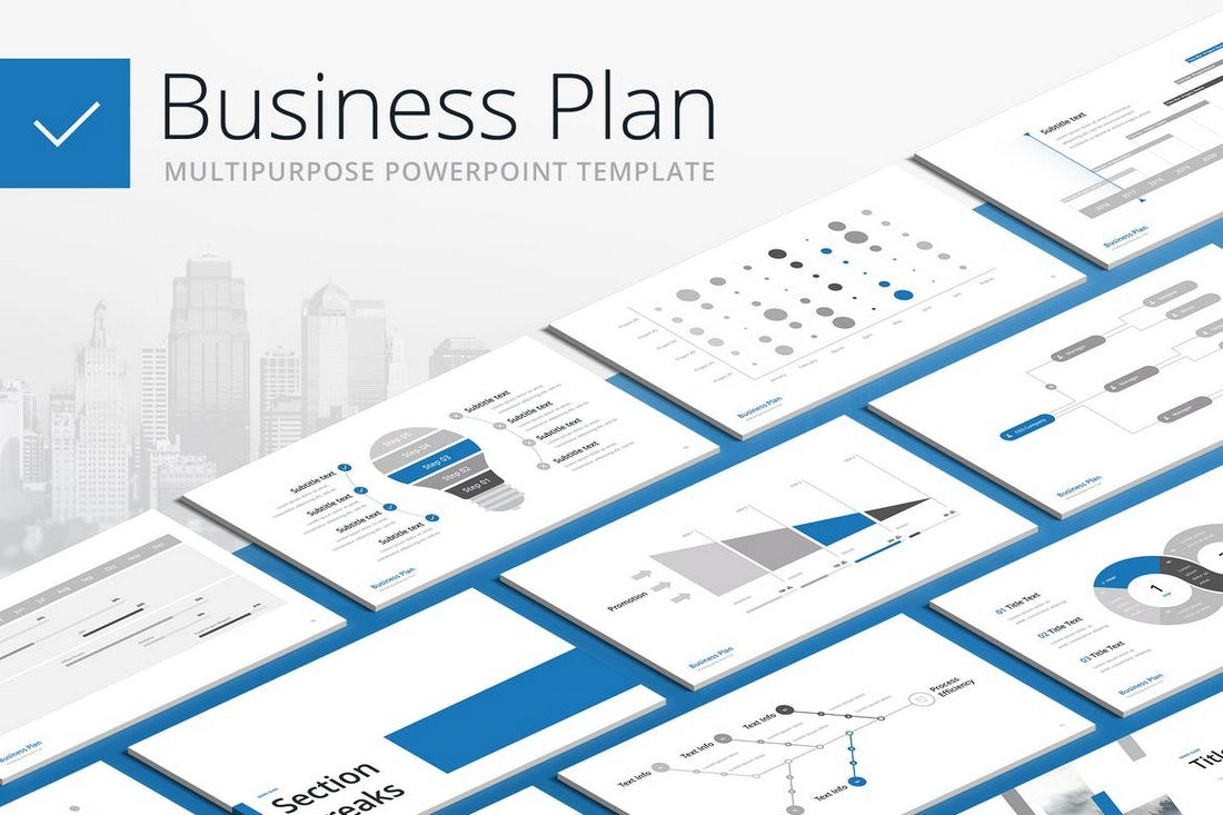 Business-Plan-Multipurpose-PowerPoint-Template 30+ Animated PowerPoint Templates (Free + Premium) design tips