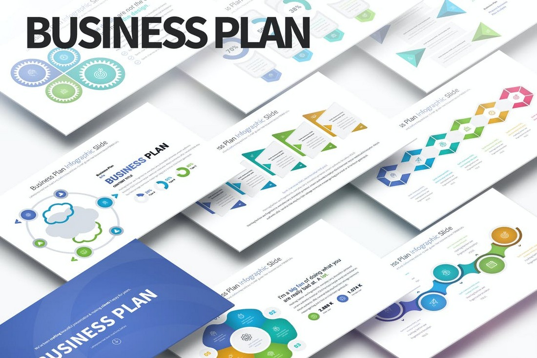 Business Plan - PowerPoint Infographics Slides