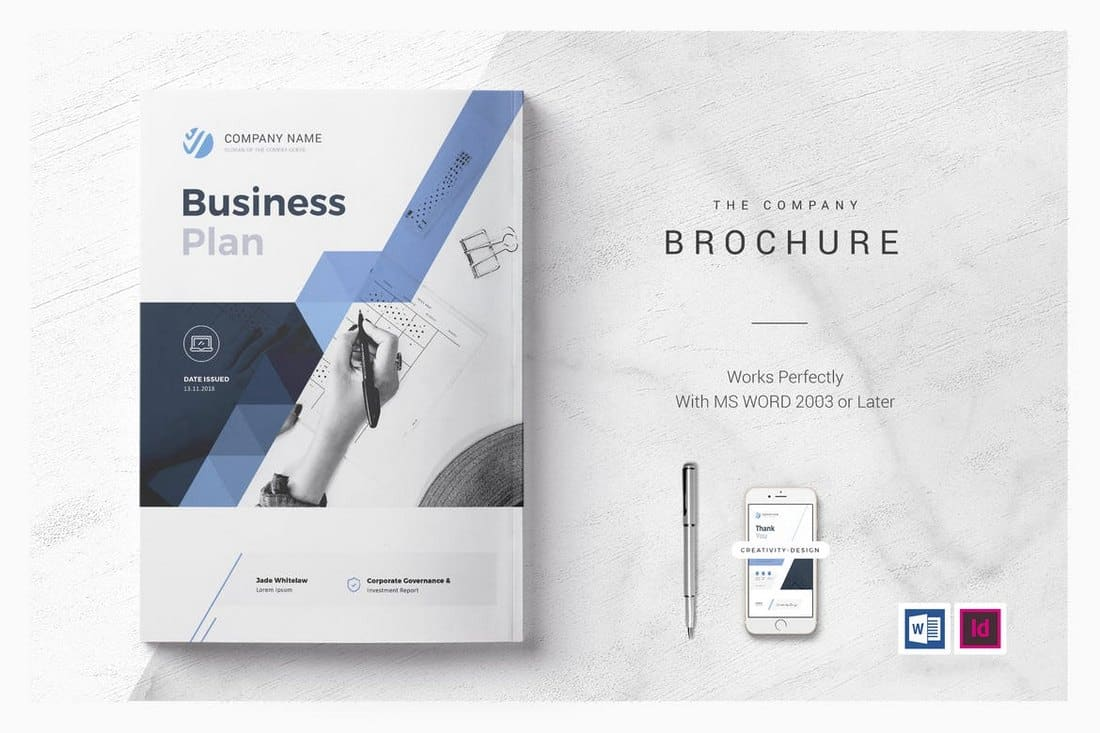 Business Plan & Report Word Template