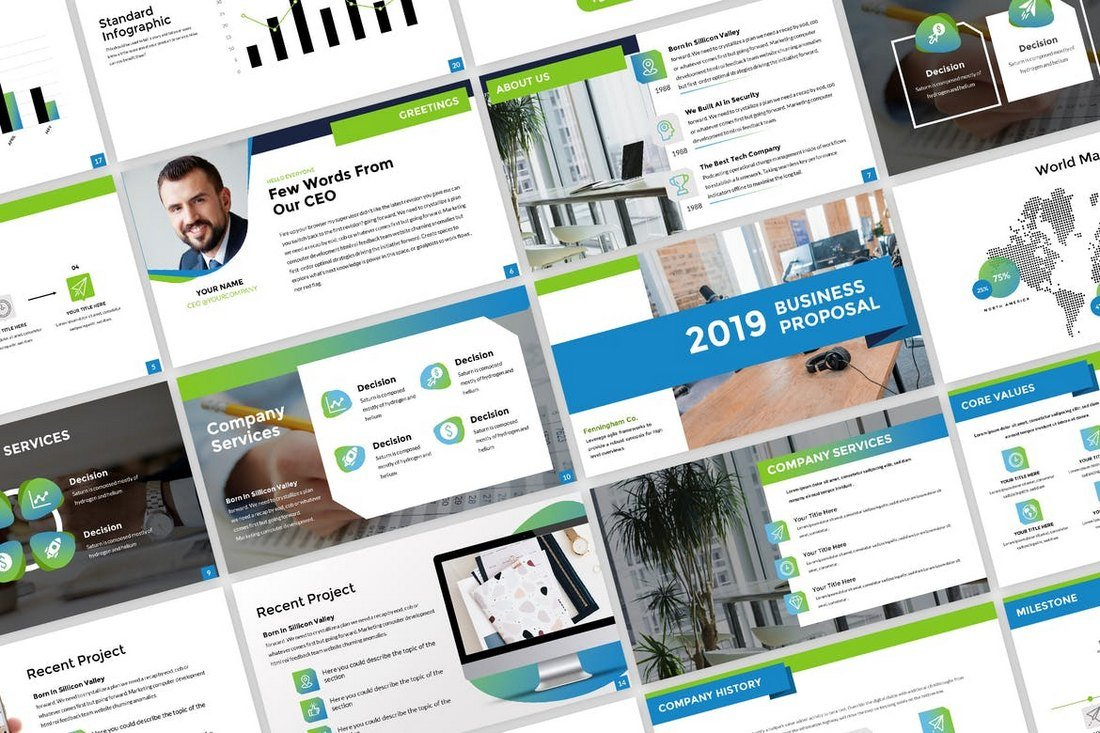 Business-Proposal-Creative-PowerPoint-Presentation 30+ Best Business & Corporate PowerPoint Templates 2021 design tips