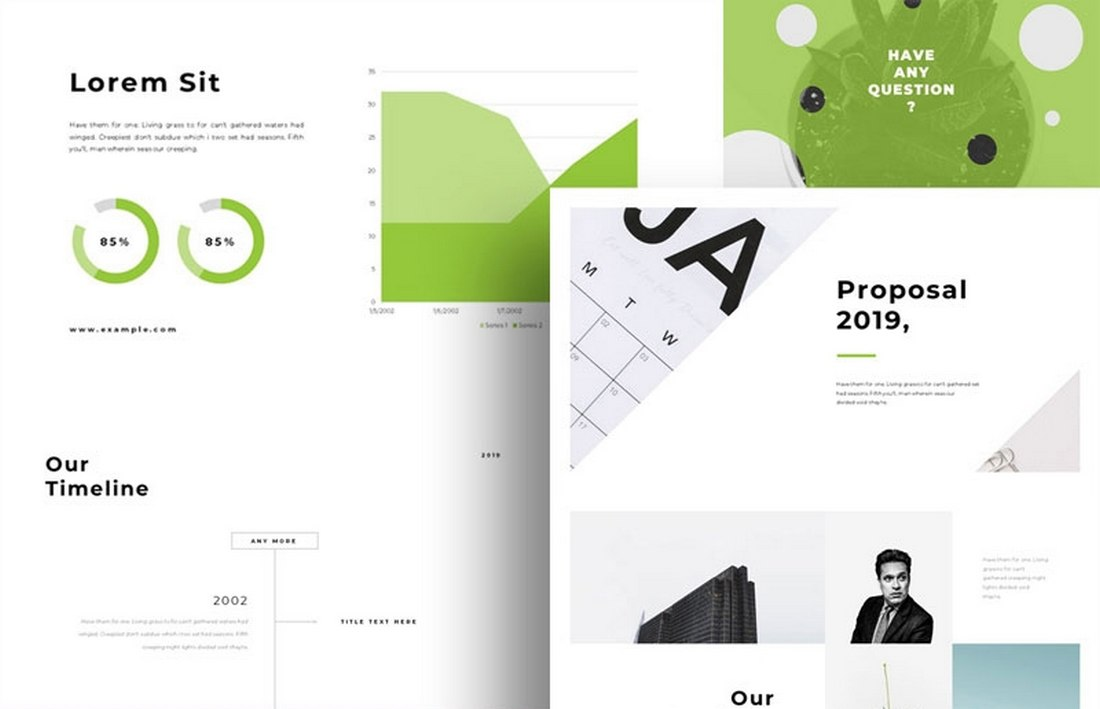 Business Proposal - Free Keynote Template