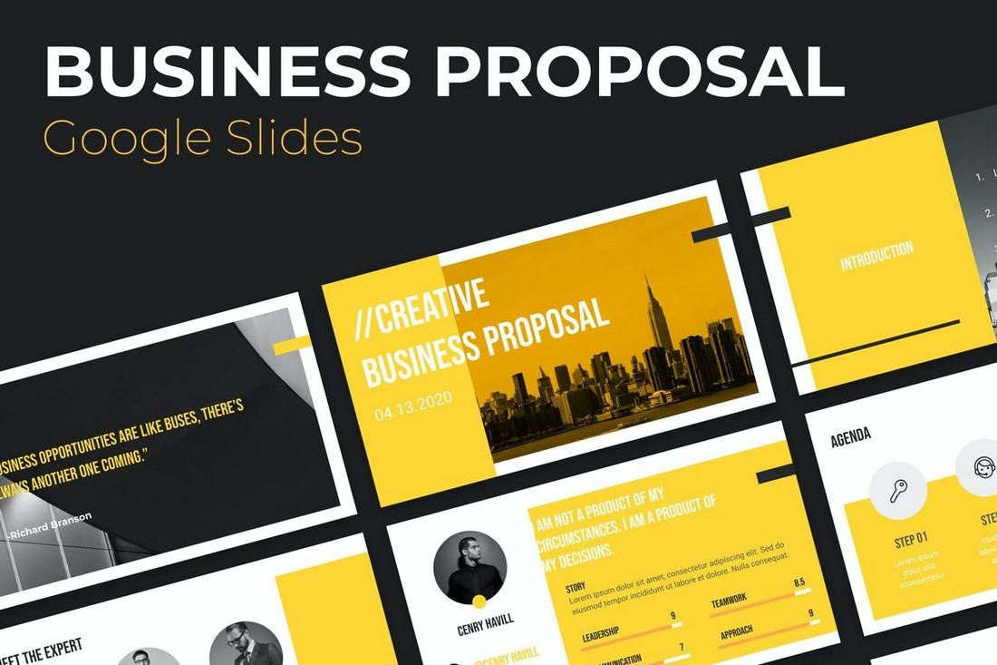 Business Proposal PowerPoint & Google Slides Template