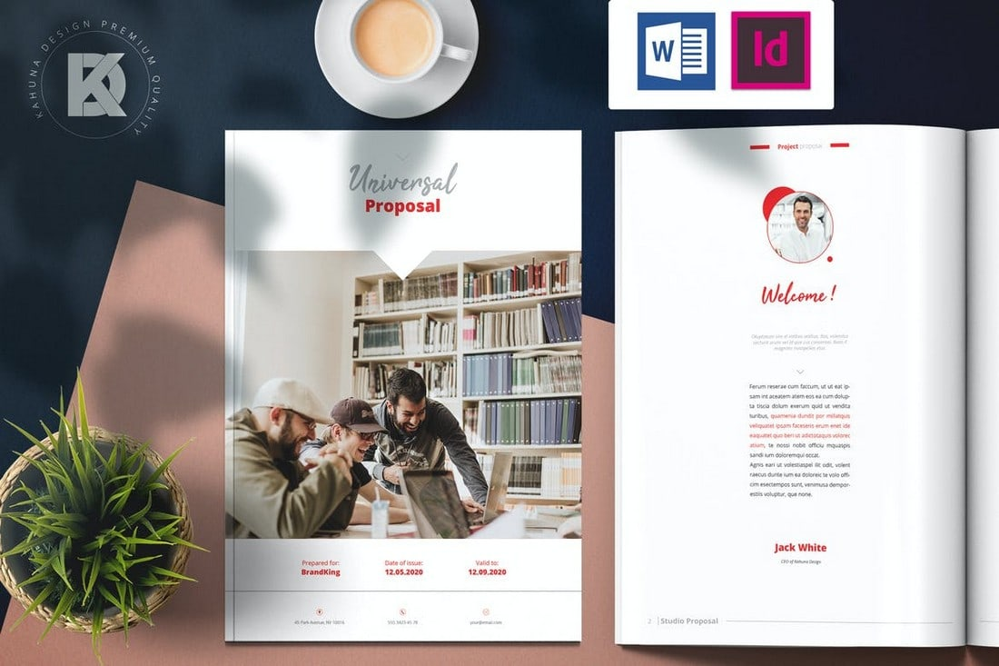Business Proposal - Word Brochure Template