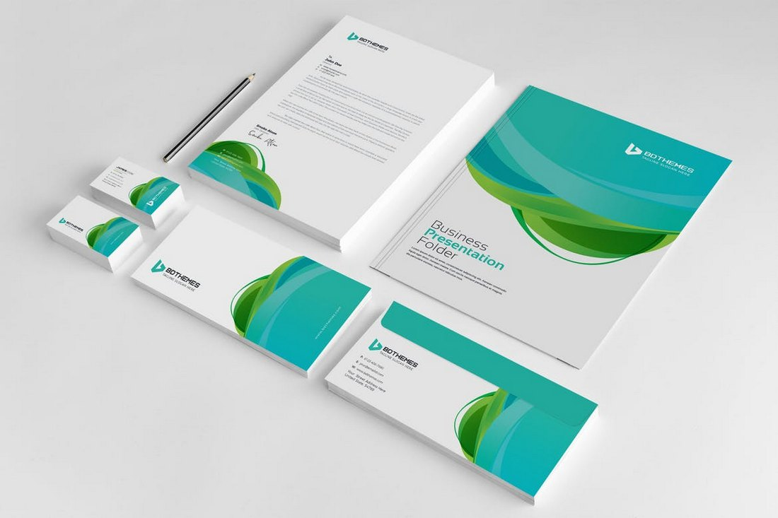 Business - Stationery Template 23