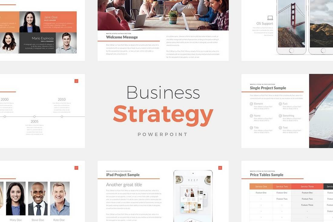 Business-Strategy-Deck 60+ Beautiful, Premium PowerPoint Presentation Templates design tips  Inspiration|microsoft|powerpoint|presentation|template