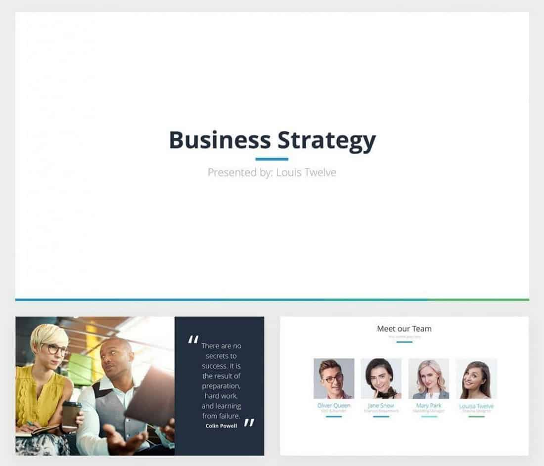 Business Strategy - Free Keynote Template