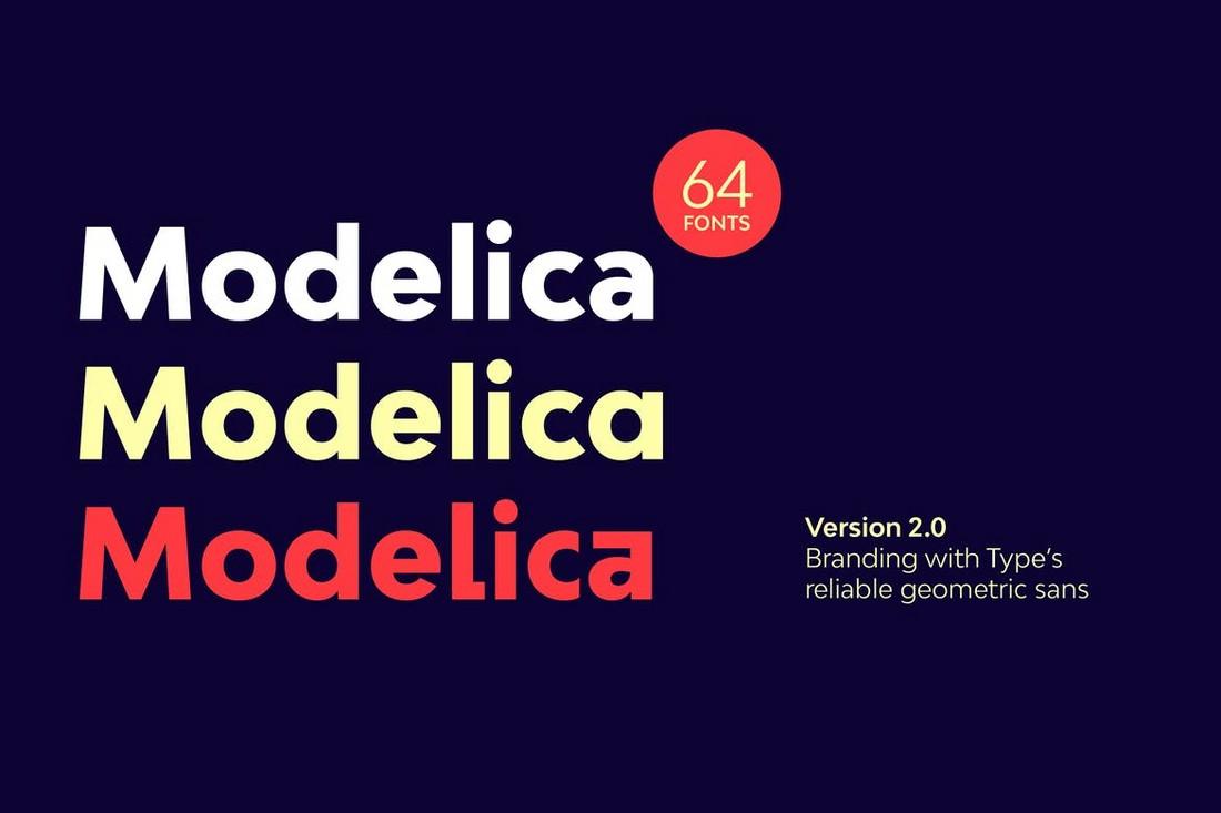 Bw-Modelica-60-Geometric-Fonts 20+ Best Geometric Fonts 2020 (Free & Premium) design tips