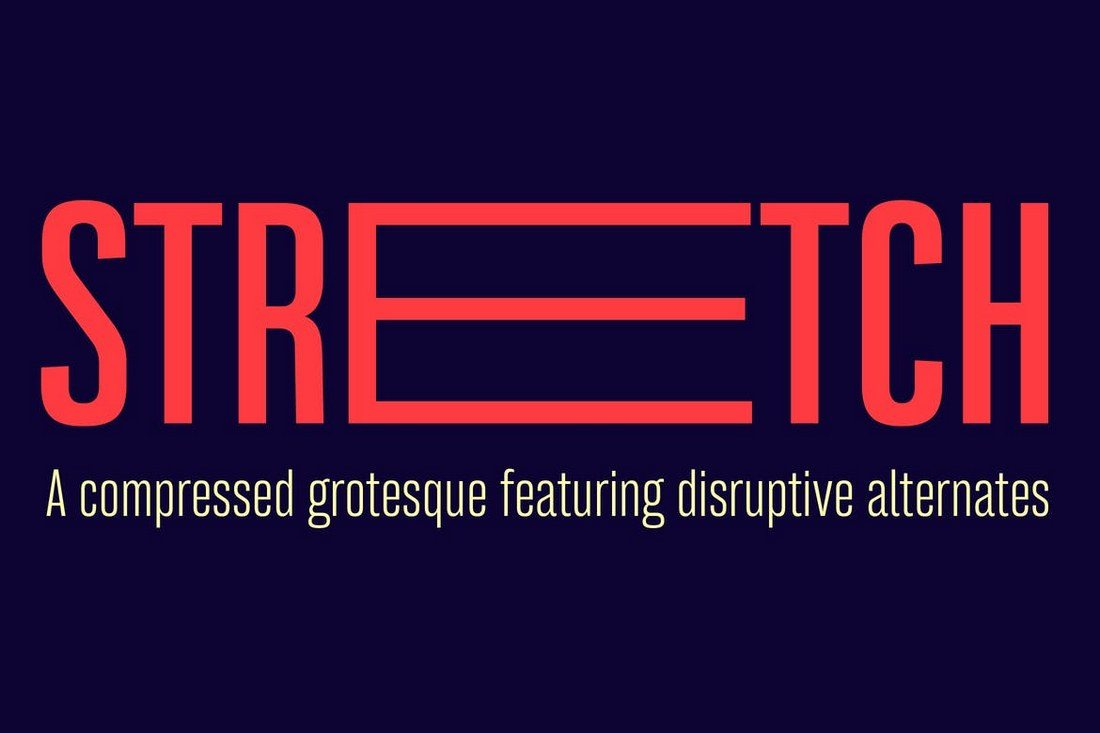 Bw-Stretch-font-family 30+ Best Modern & Futuristic Fonts 2021 design tips