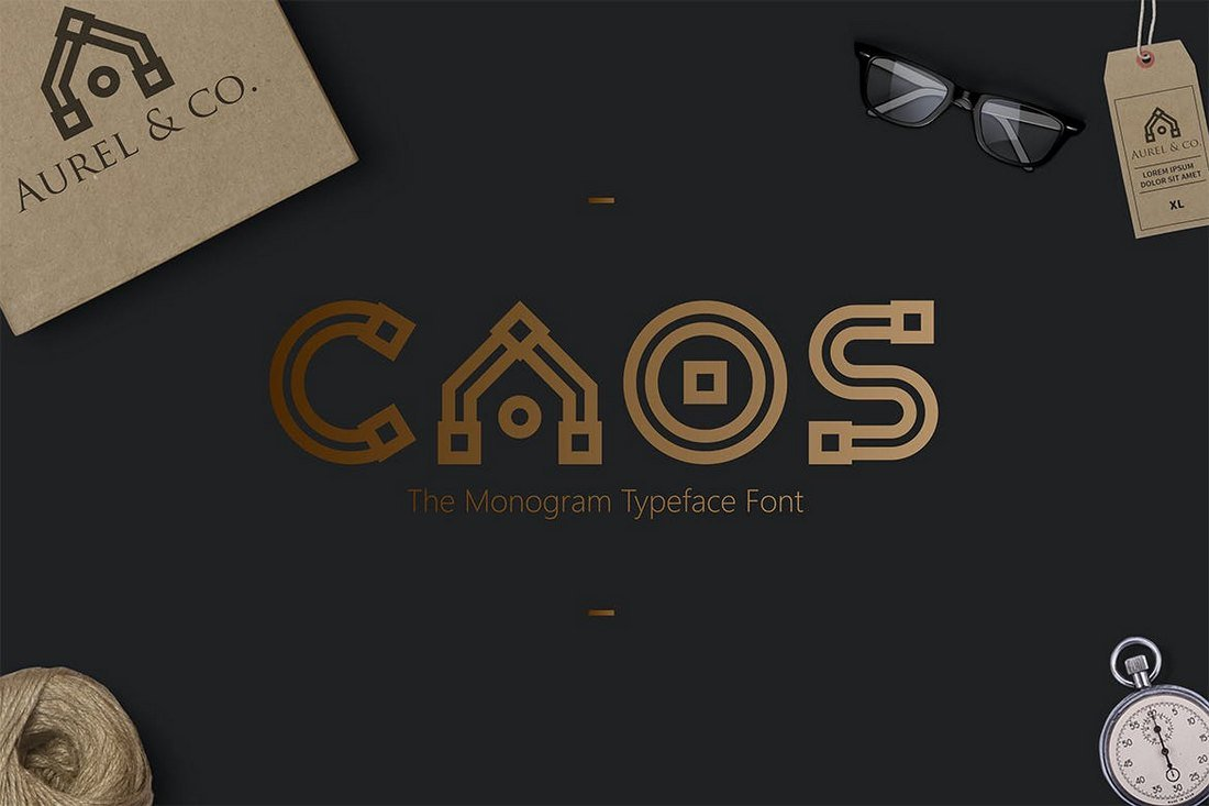 CAOS-The-Logo-Typeface 30+ Best Fonts for Logo Design design tips