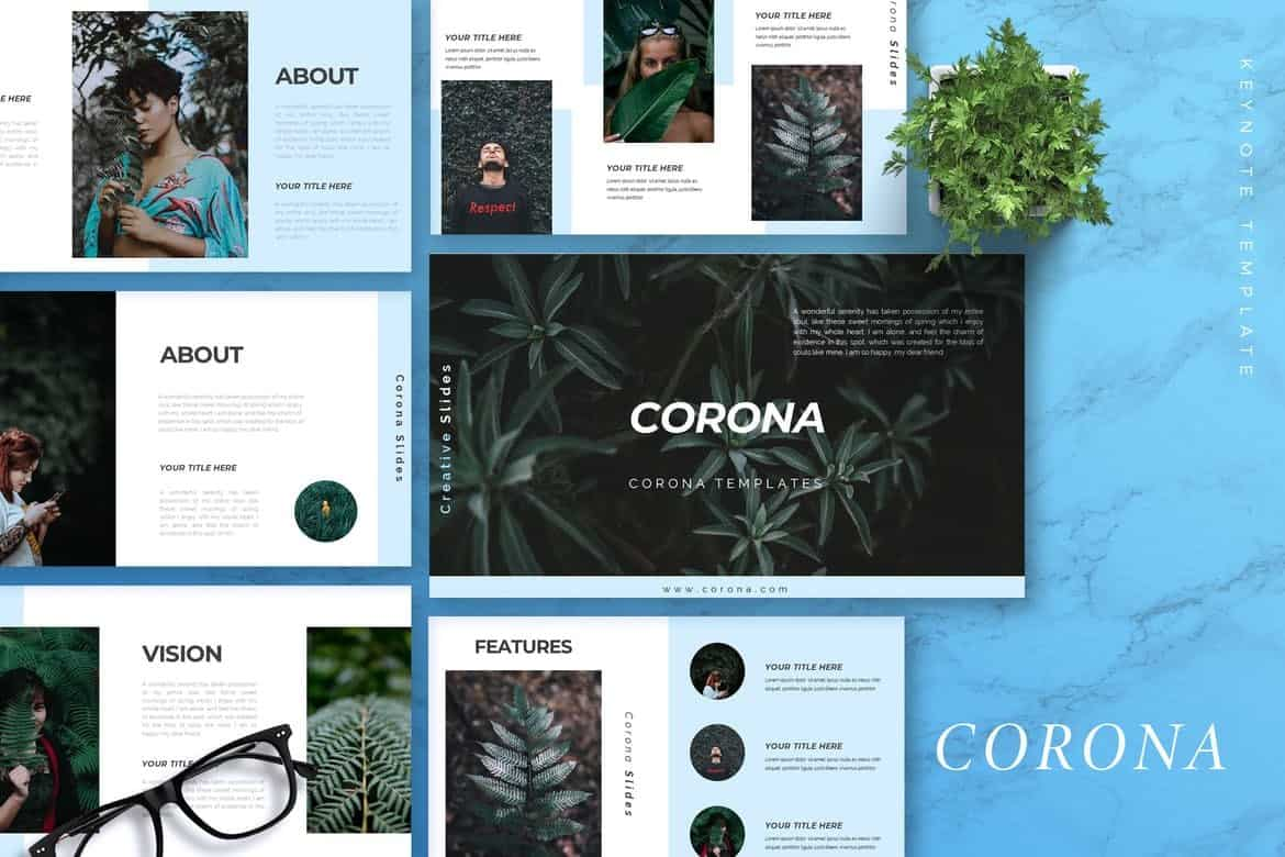 CORONA-Creative-Keynote-Template 50+ Best Keynote Templates of 2021 design tips