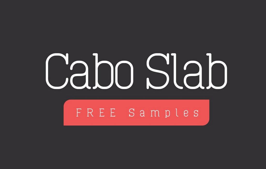Cabo-Free-Slab-Serif-Font 50+ Best Slab Serif Fonts of 2021 design tips