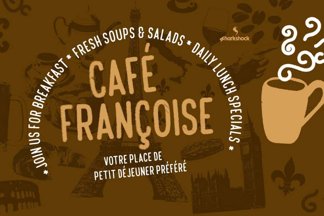 Cafe Francoise - Creative Chalk Font