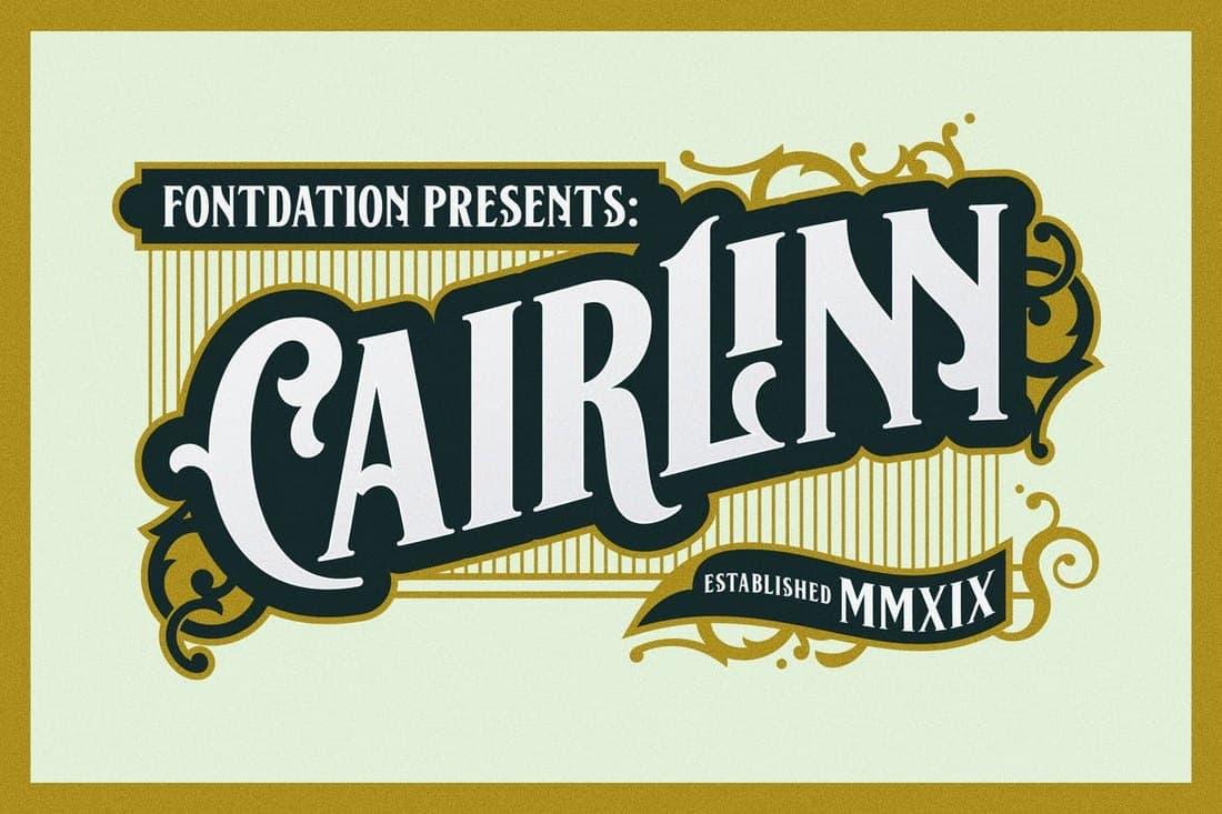 Cairlinn - Elegant Vintage Font