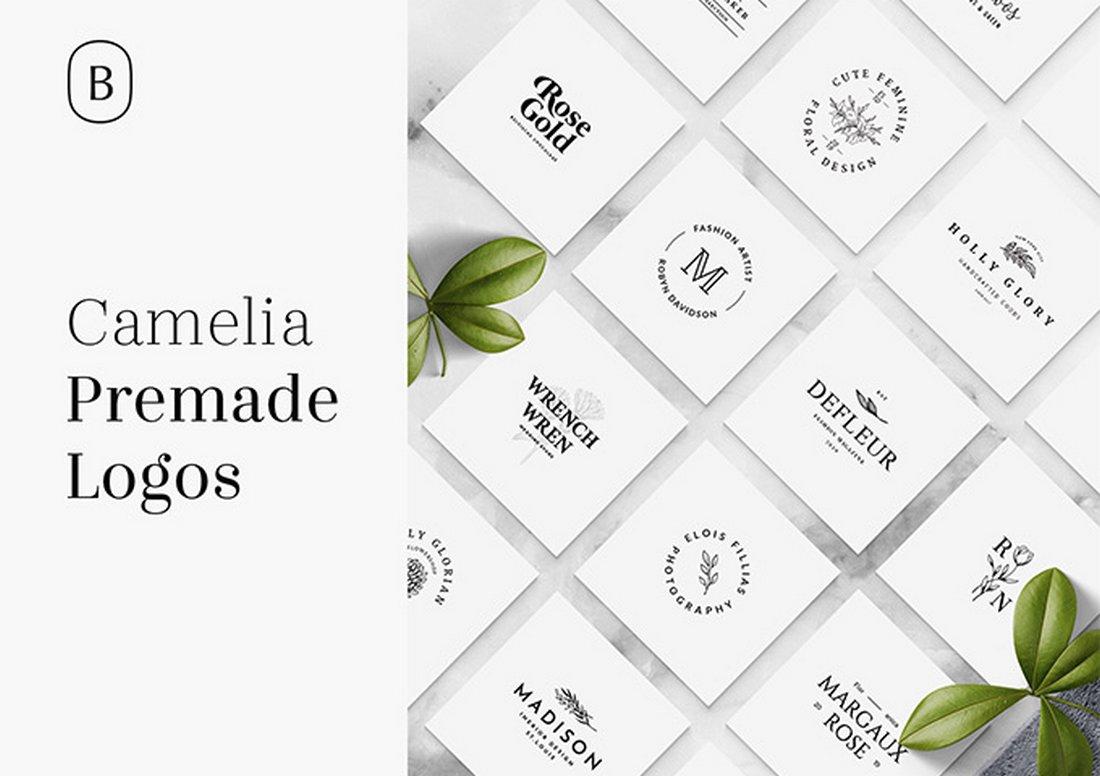 Camelia - 15 Free Logo Templates