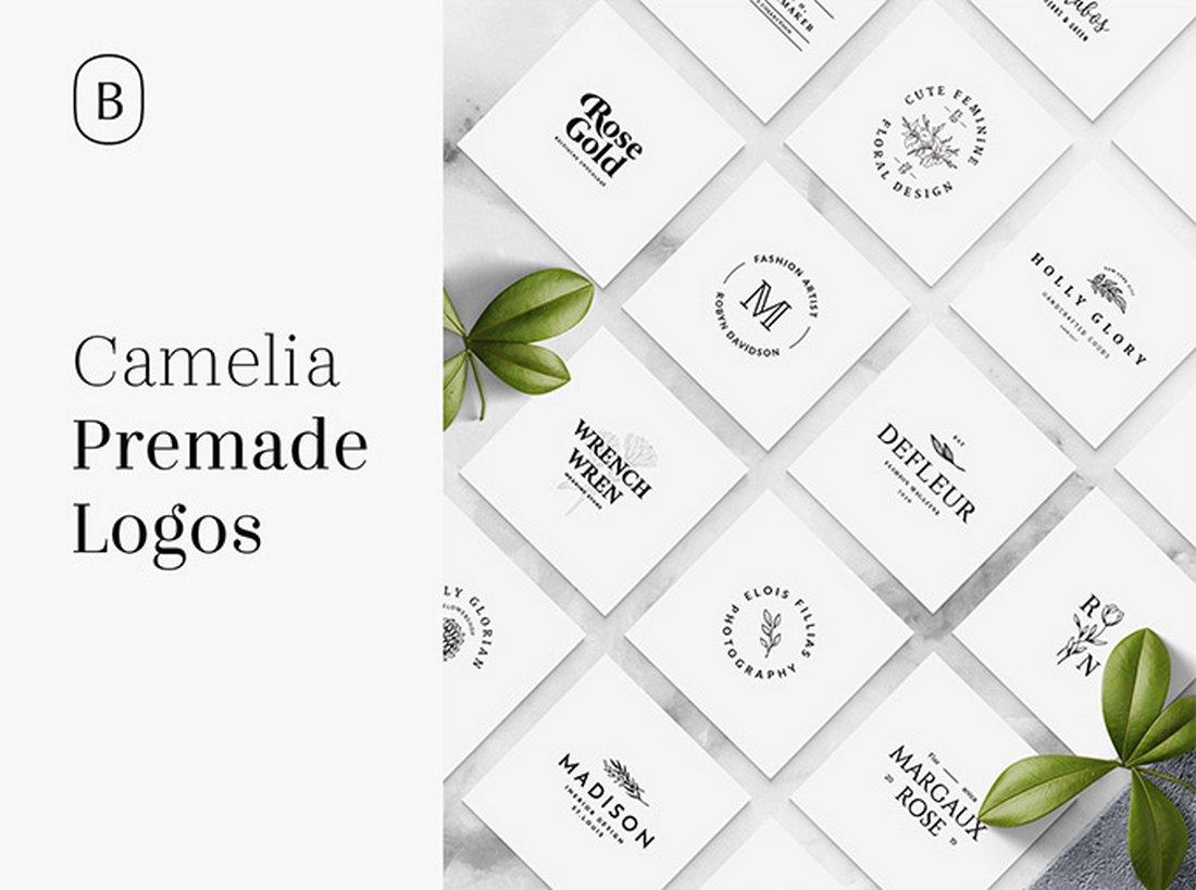 Camelia Free Logo Templates