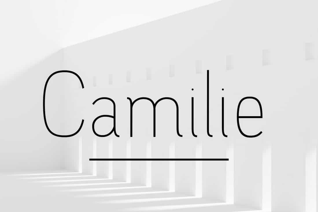 Camilie - Elegant Font Family