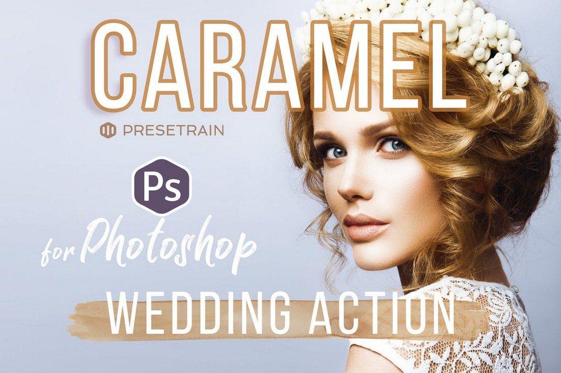 Caramel-Wedding-Photoshop-Action 20+ Best Portrait Photoshop Actions design tips